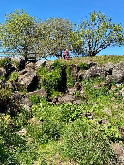 Eisgraben Wasserfall Lange Rhön UteStraub